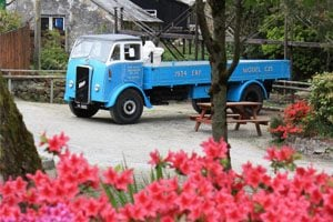 ERF lorry at Wheal Martyn
