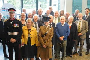 CCHS members with Lord Lieutenant of Cornwall