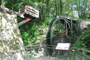 18 foot waterwheel at Wheal Martyn