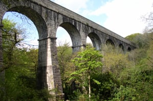 Treffry Viaduct Luxulyan Valley