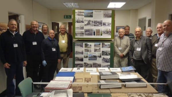 members of china clay history society and the archive